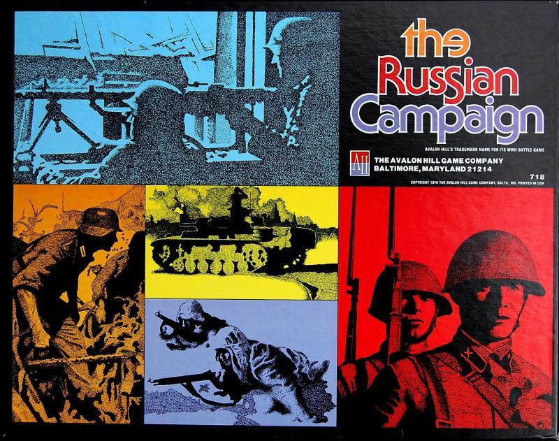 настольная игра The Russian Campaign Русская Кампания