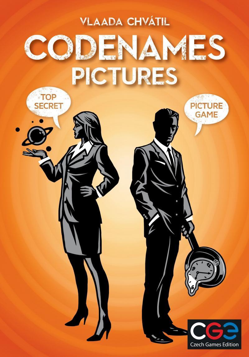 настольная игра Codenames: Pictures Кодовые названия: Картинки