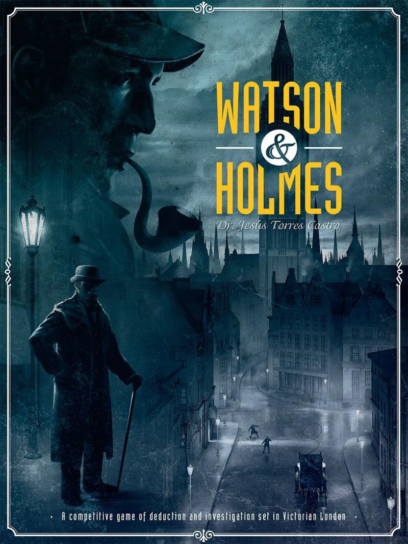 настольная игра Watson & Holmes Уотсон и Холмс