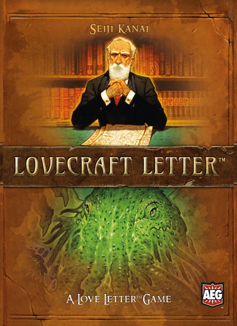 настольная игра Lovecraft Letter Письмо Лавкрафта