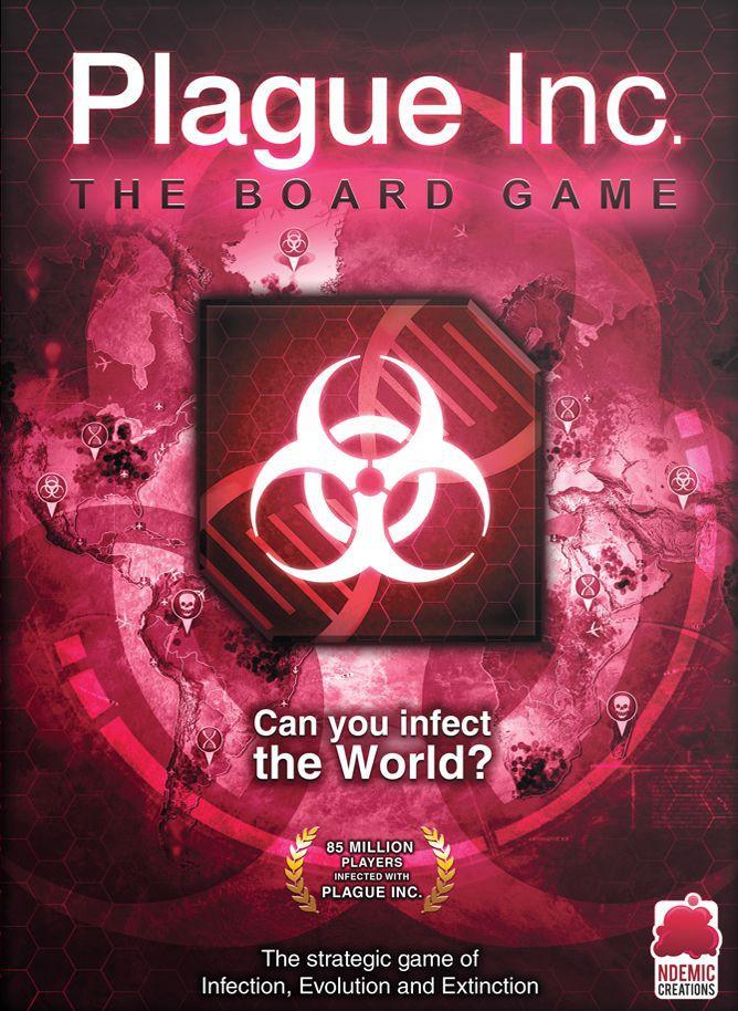 настольная игра Plague Inc.: The Board Game Чума Inc .: Настольная игра