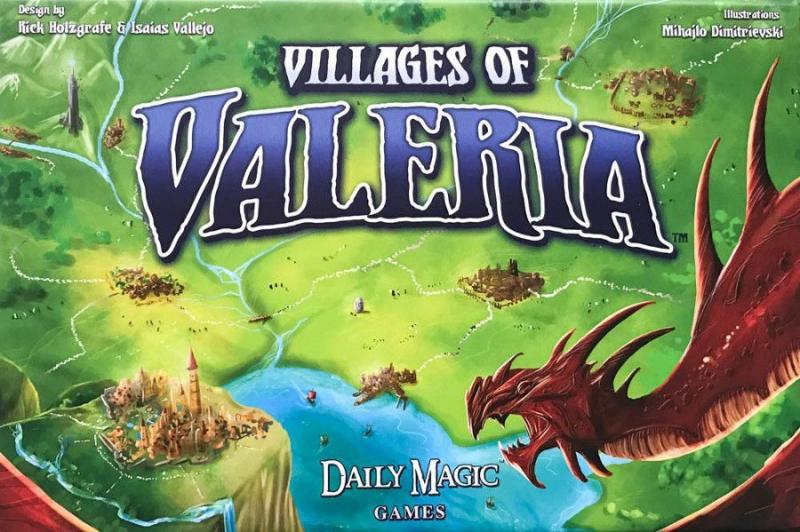 настольная игра Villages of Valeria Деревни Валерии