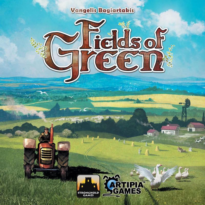 настольная игра Fields of Green Поля Грина