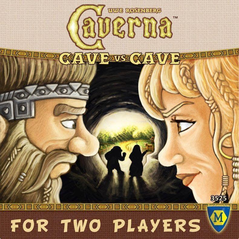 настольная игра Caverna: Cave vs Cave Каверна: пещера против пещеры