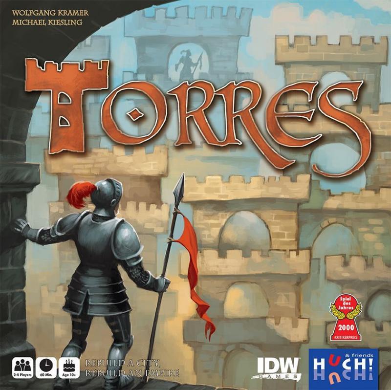 настольная игра Torres Торрес