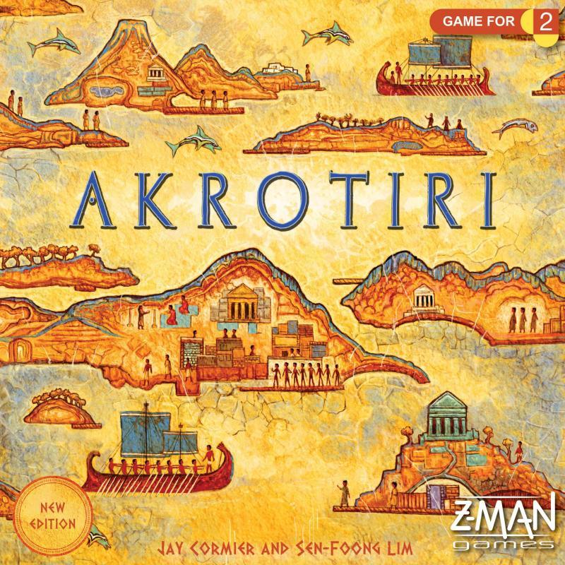 настольная игра Akrotiri Акротири
