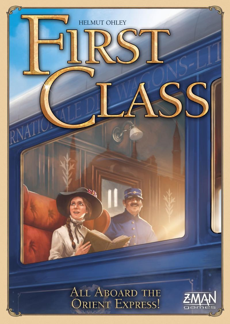 настольная игра First Class: All Aboard the Orient Express! Первый класс: все на борту Восточного экспресса!