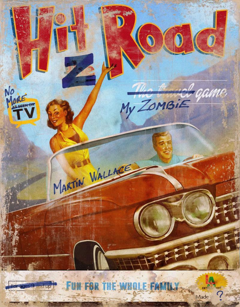 настольная игра Hit Z Road