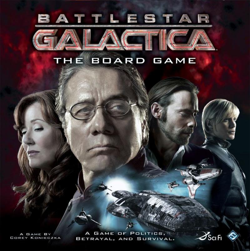 настольная игра Battlestar Galactica: The Board Game Battlestar Galactica: настольная игра