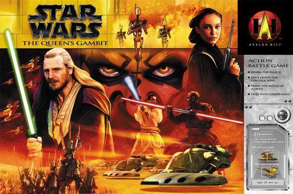 настольная игра Star Wars: The Queen's Gambit Звездные войны: королевский гамбит