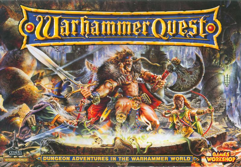 настольная игра Warhammer Quest