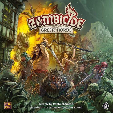 настольная игра Zombicide: Green Horde Зомбицид: Зеленая Орда