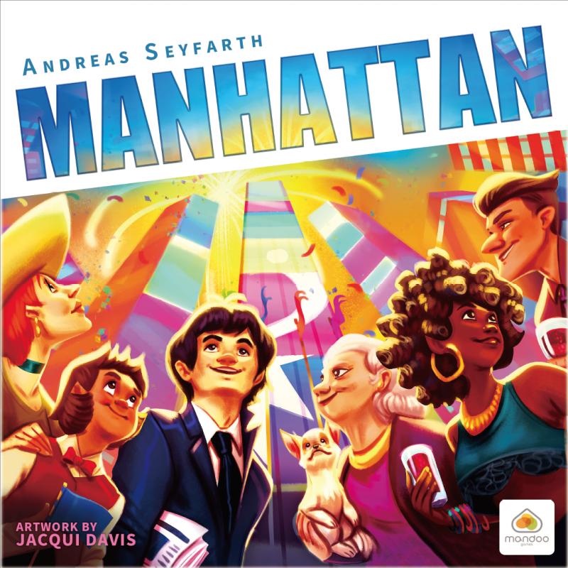 настольная игра Manhattan Манхеттен