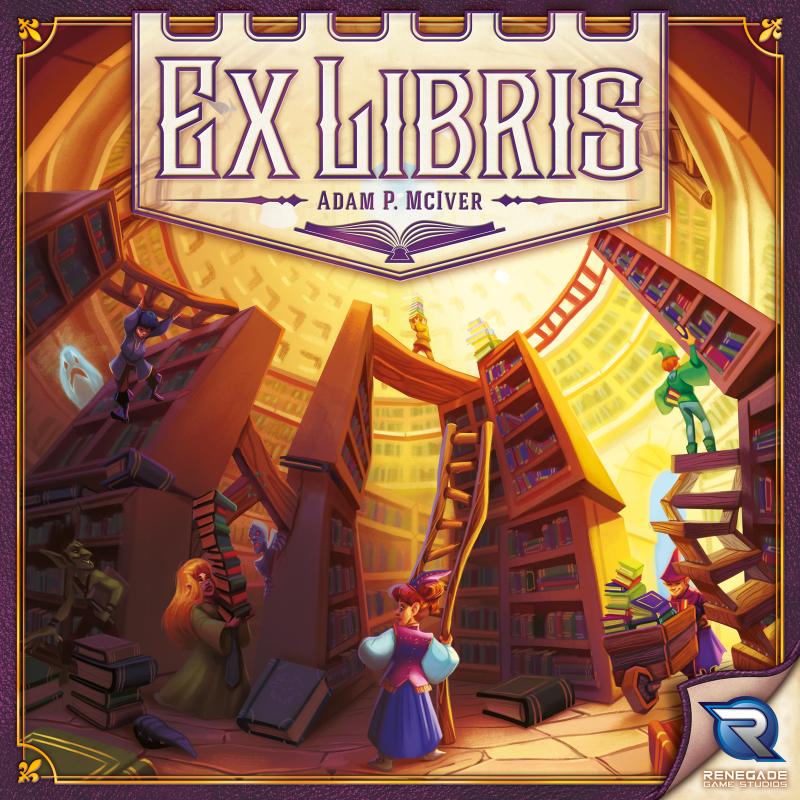 настольная игра Ex Libris