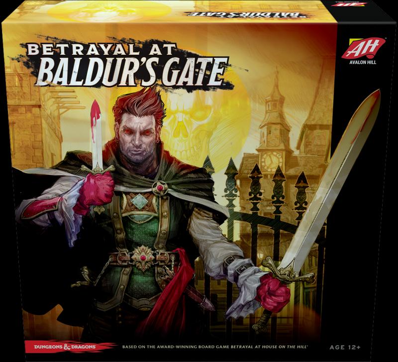 настольная игра Betrayal at Baldur's Gate Предательство у ворот Балдура