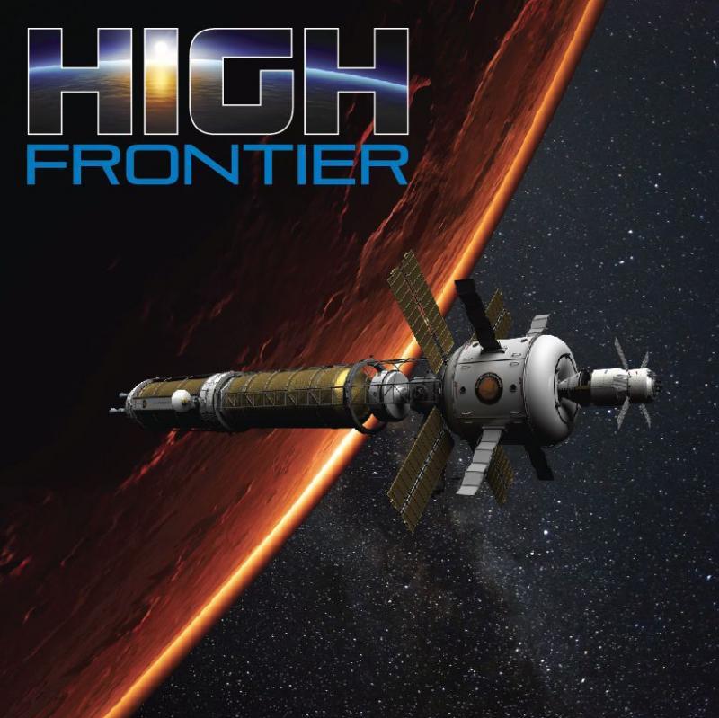настольная игра High Frontier (Third Edition) Высокий рубеж (третье издание)