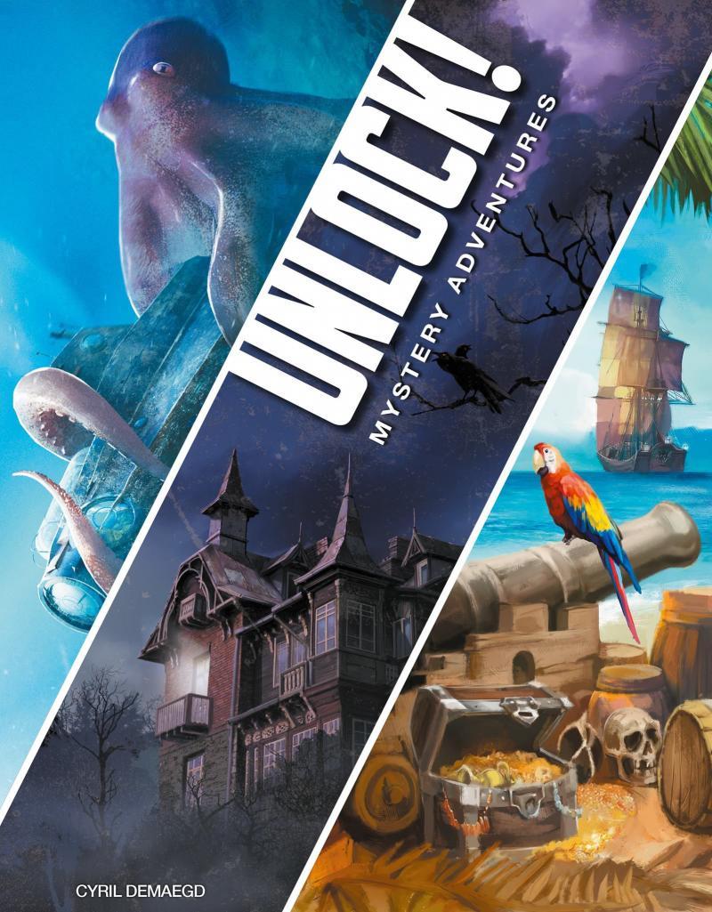 настольная игра Unlock! Mystery Adventures Открой! Тайные приключения