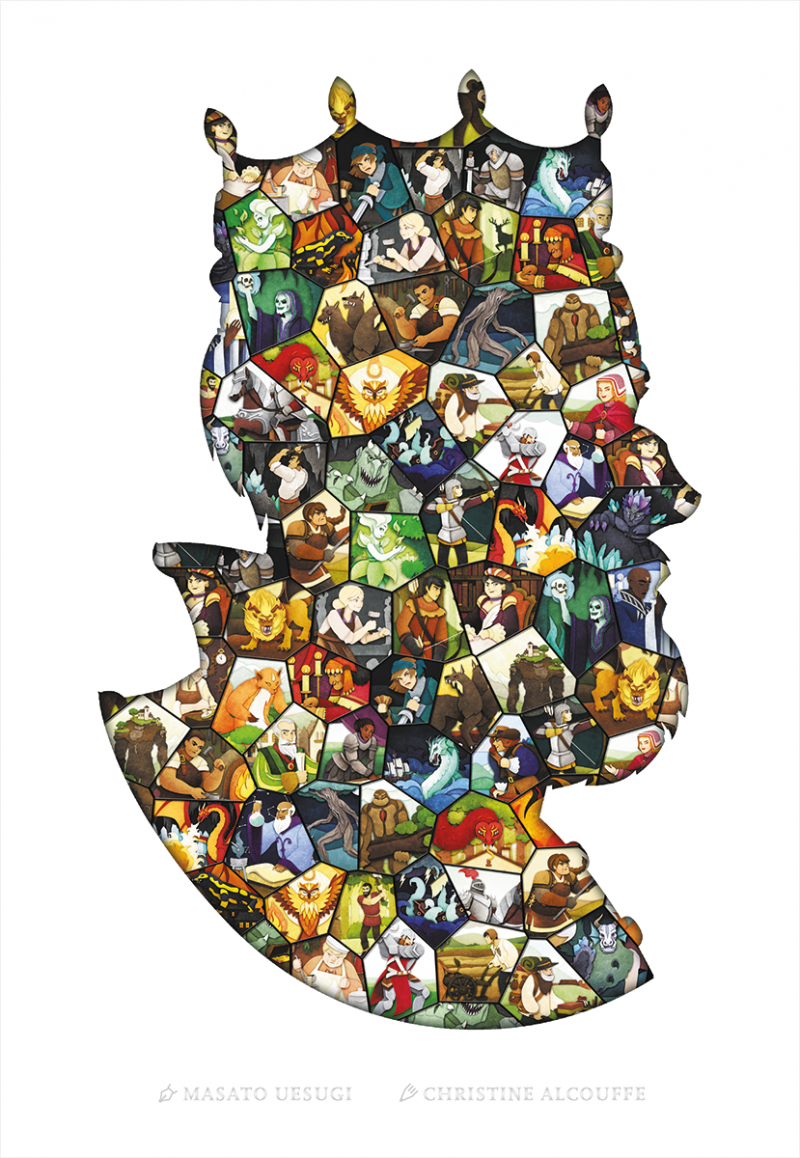 настольная игра Paper Tales Бумажные сказки