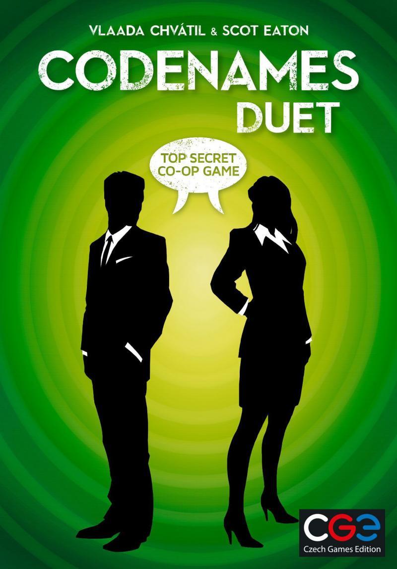 настольная игра Codenames: Duet Кодовое название: Duet