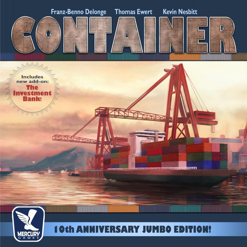 настольная игра Container: 10th Anniversary Jumbo Edition! Контейнер: 10-летие Jumbo Edition!