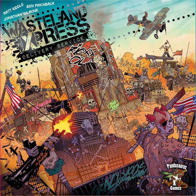 настольная игра Wasteland Express Delivery Service Экспресс-служба Wasteland