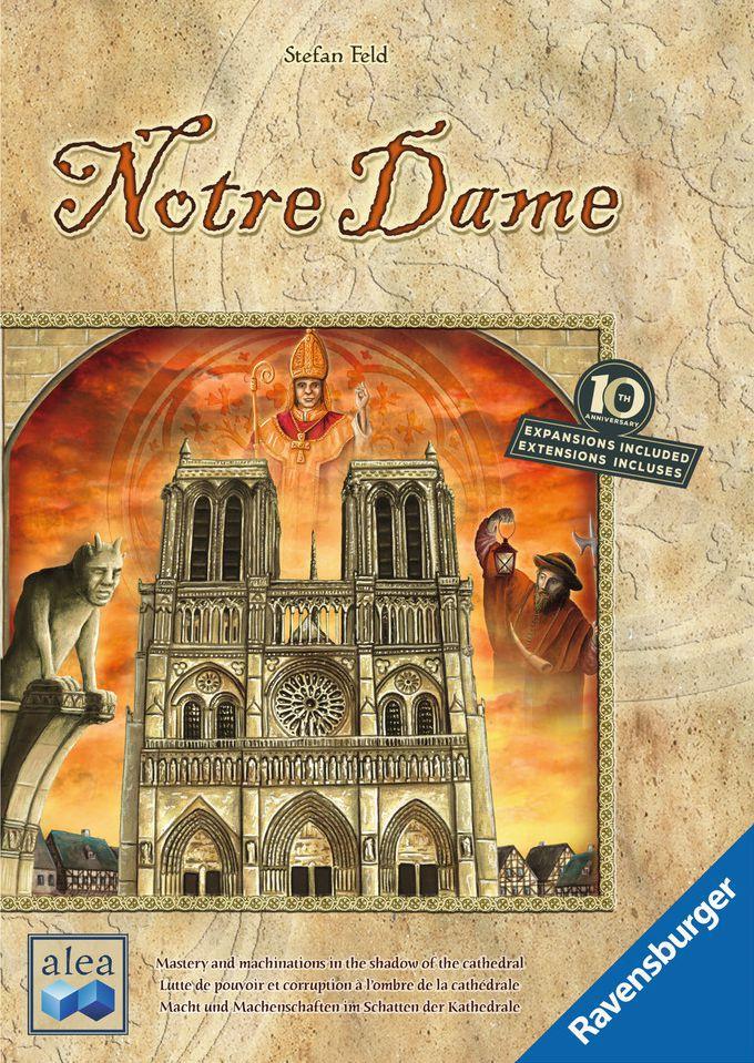 настольная игра Notre Dame: 10th Anniversary Нотр-Дам: 10 лет
