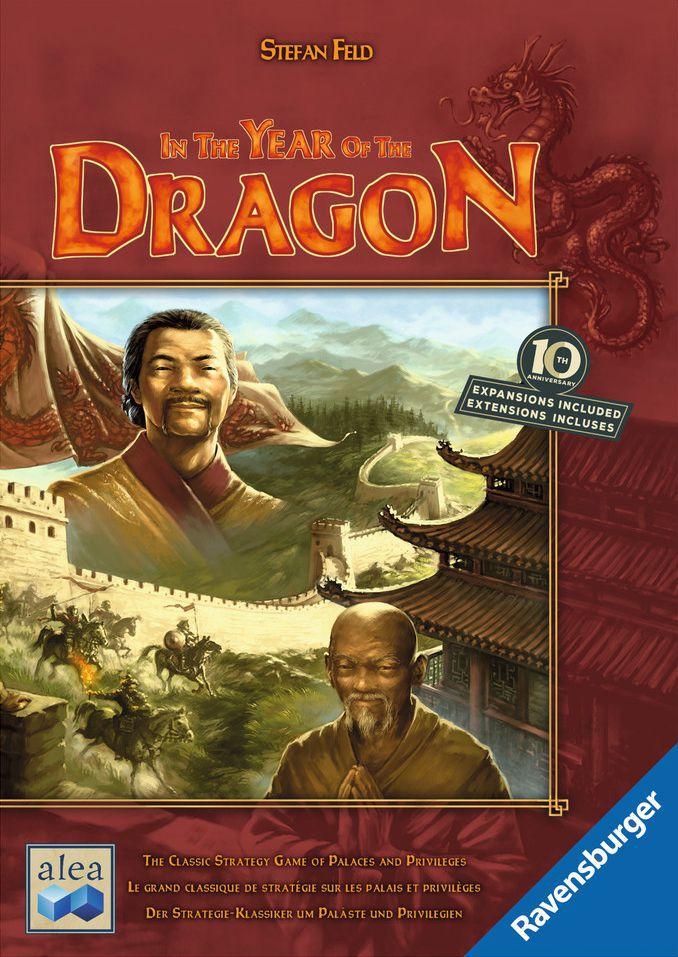 настольная игра In the Year of the Dragon: 10th Anniversary В год Дракона: 10 лет
