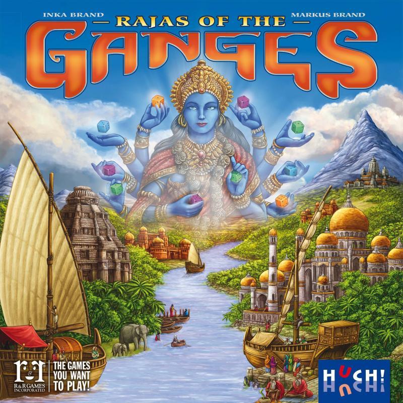 настольная игра Rajas of the Ganges Раджас Ганга