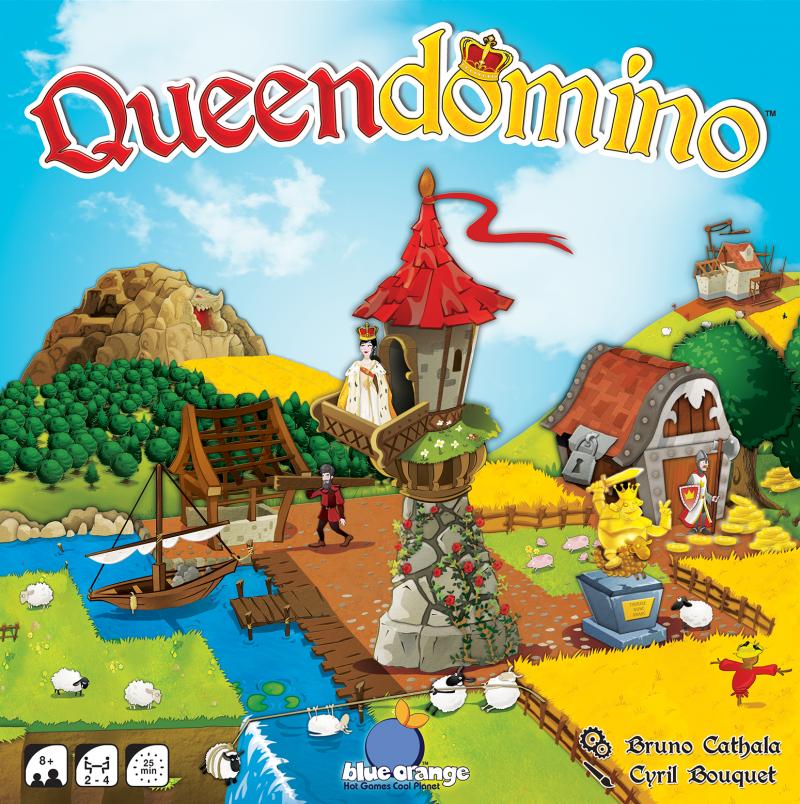 настольная игра Queendomino