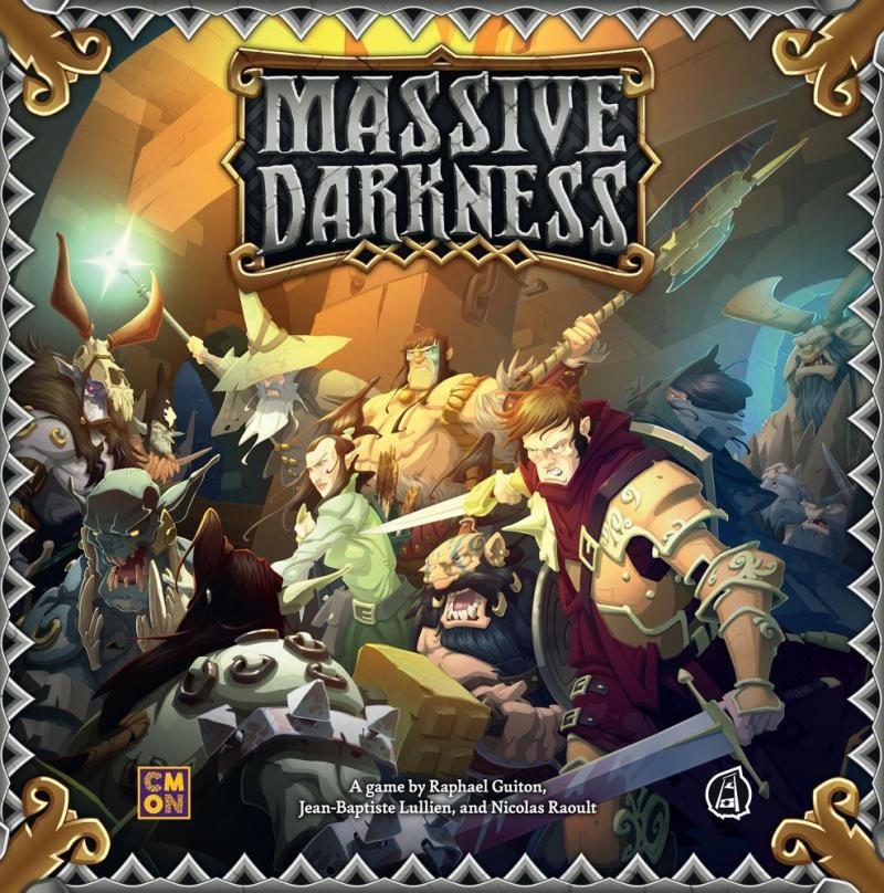 настольная игра Massive Darkness Массивная Тьма