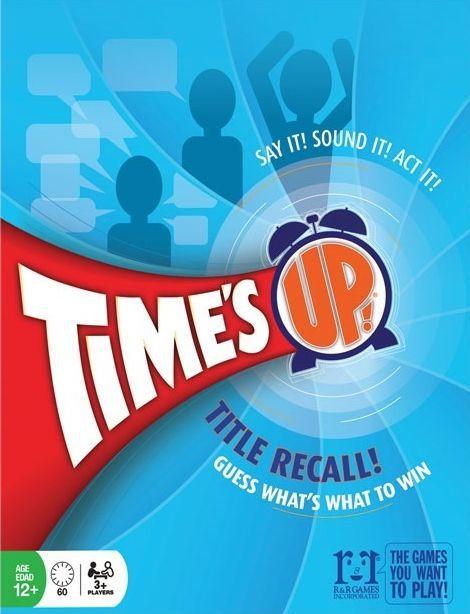 настольная игра Time's Up! Title Recall! Время вышло! Название Напомним!