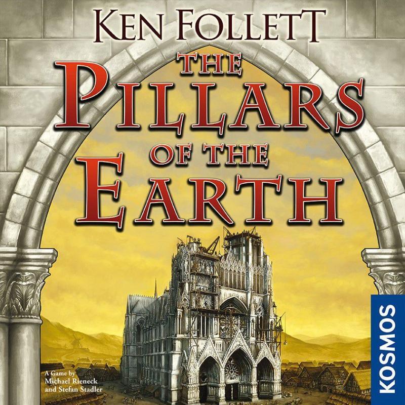 настольная игра The Pillars of the Earth Столпы Земли