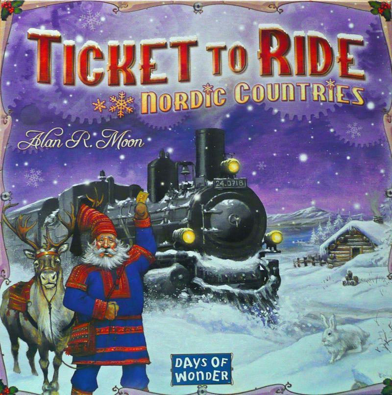 настольная игра Ticket to Ride: Nordic Countries Билет на поездку: Северные страны