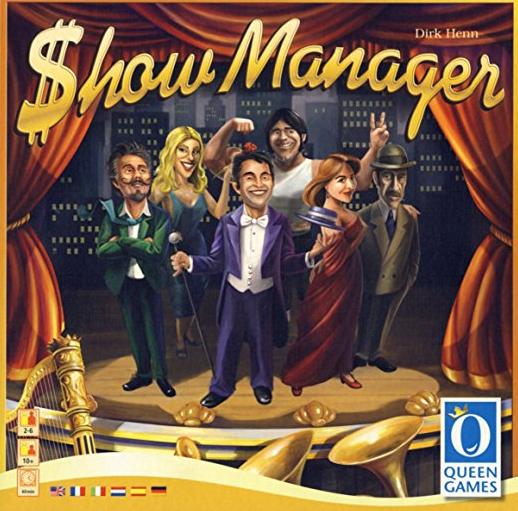 настольная игра Show Manager Диспетчер шоу