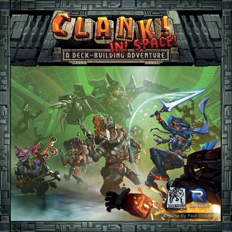 настольная игра Clank! In! Space! Clank! В! Космос!