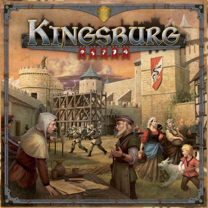 настольная игра Kingsburg (Second Edition) Кингсбург (второе издание)