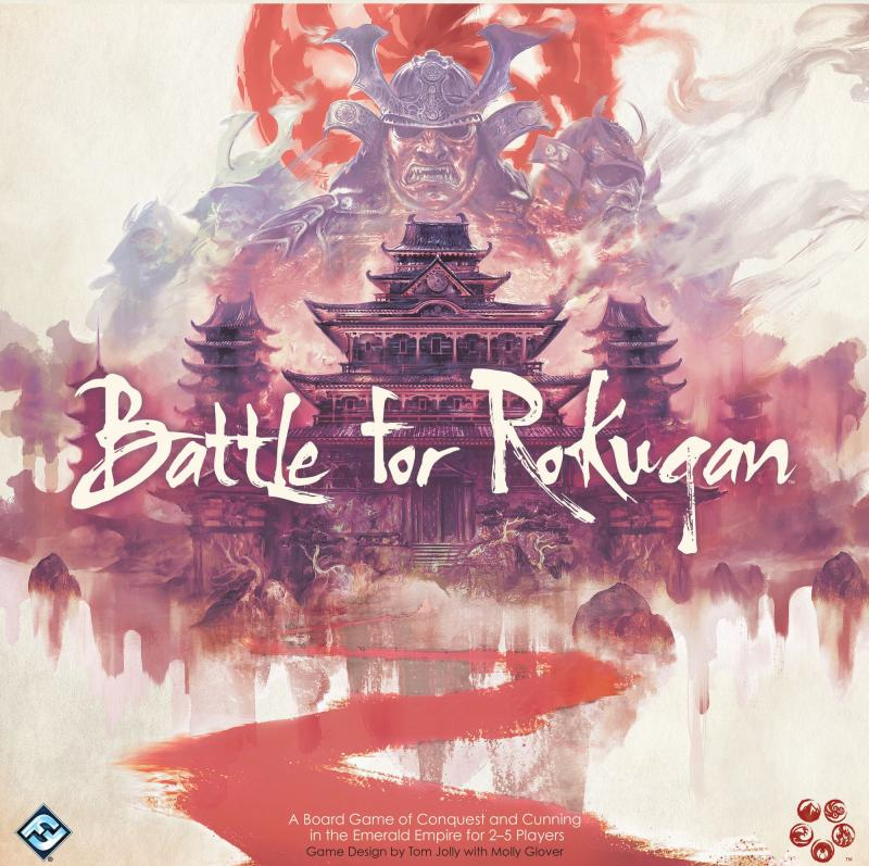 настольная игра Battle for Rokugan Битва за Рокуган