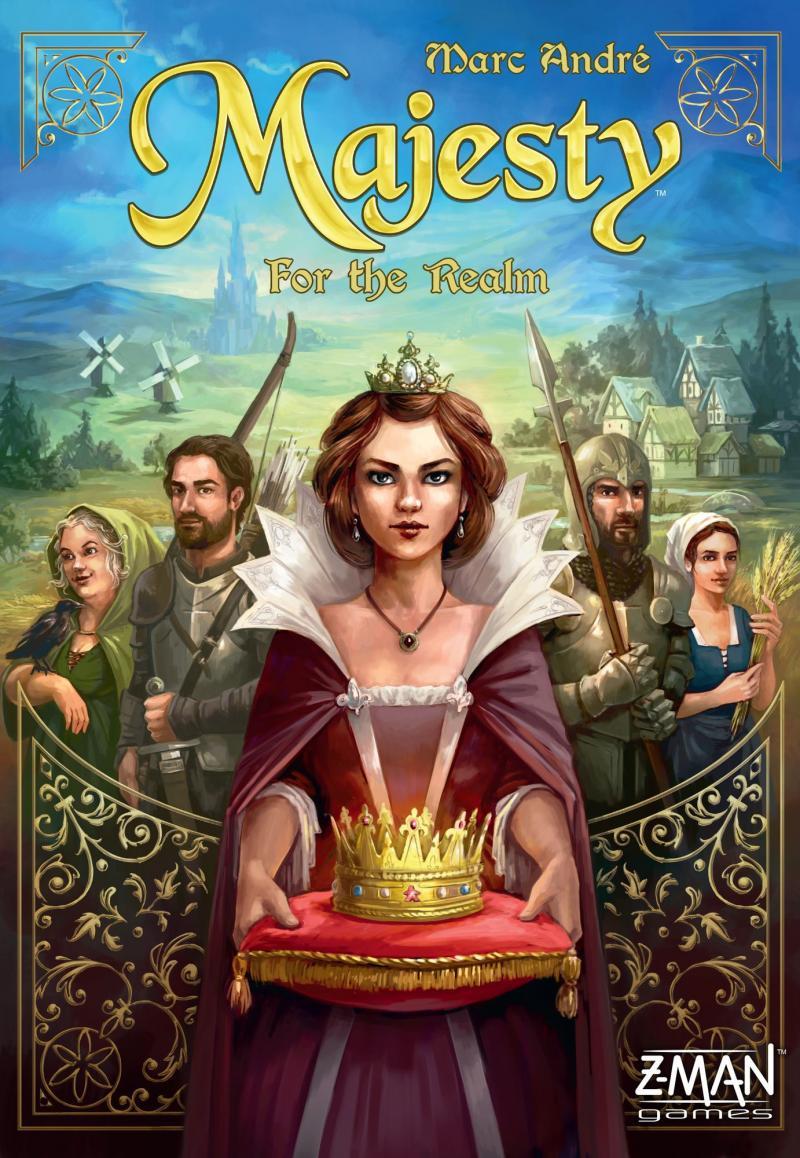 настольная игра Majesty: For the Realm Величество: для королевства