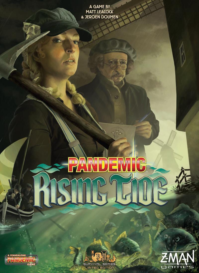 настольная игра Pandemic: Rising Tide Пандемия: прилив