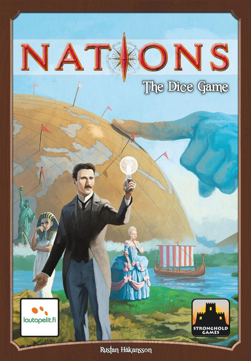 настольная игра Nations: The Dice Game Наций: игра в кости