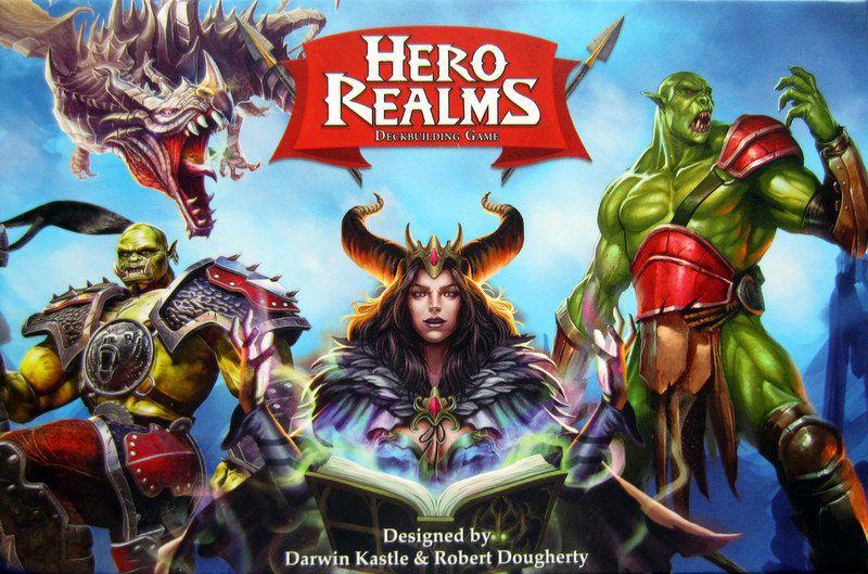 настольная игра Hero Realms Королевства героев