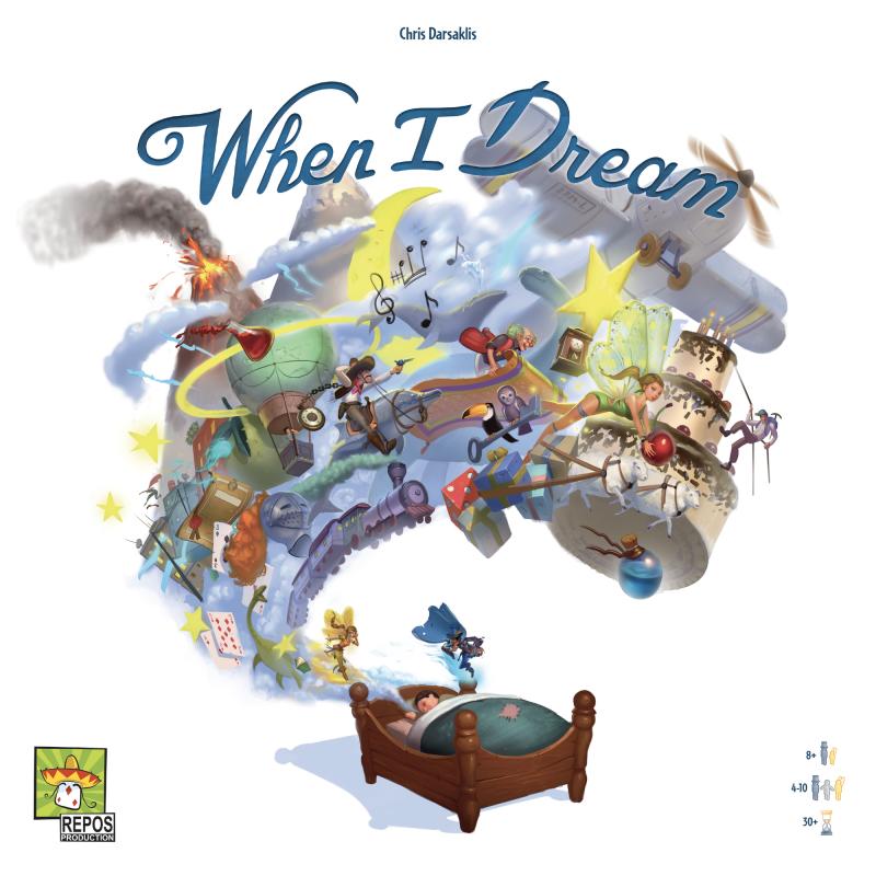 настольная игра When I Dream Когда я мечтаю
