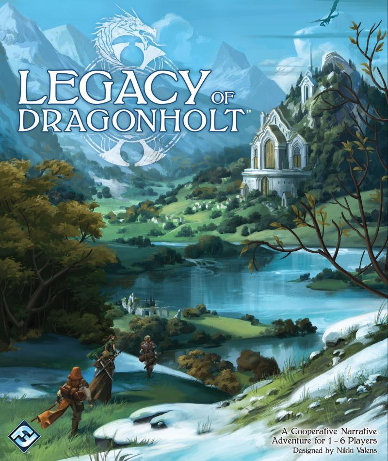 настольная игра Legacy of Dragonholt Наследие Дракона