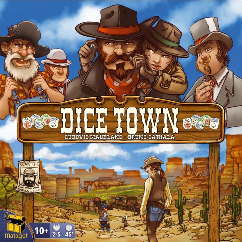 настольная игра Dice Town