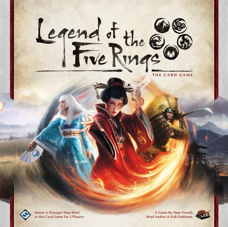настольная игра Legend of the Five Rings: The Card Game Легенда о пяти кольцах: карточная игра