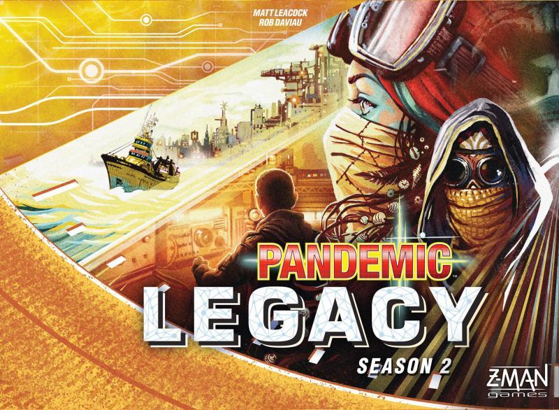 настольная игра Pandemic Legacy: Season 2 Наследие пандемии: сезон 2