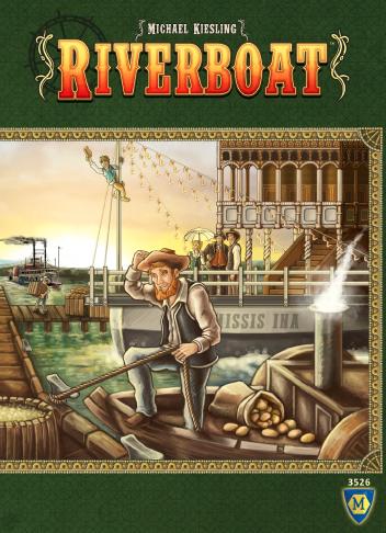 настольная игра Riverboat