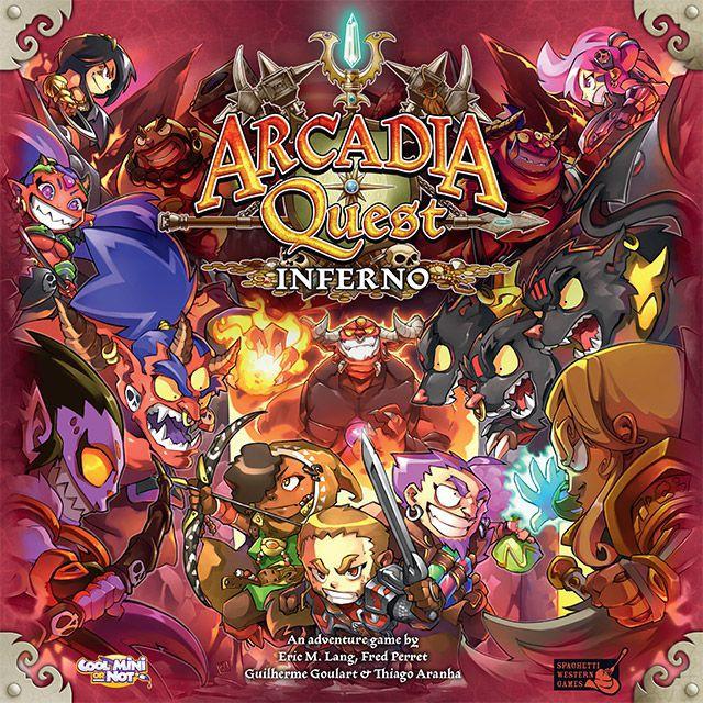 настольная игра Arcadia Quest: Inferno Аркадия Квест: Инферно