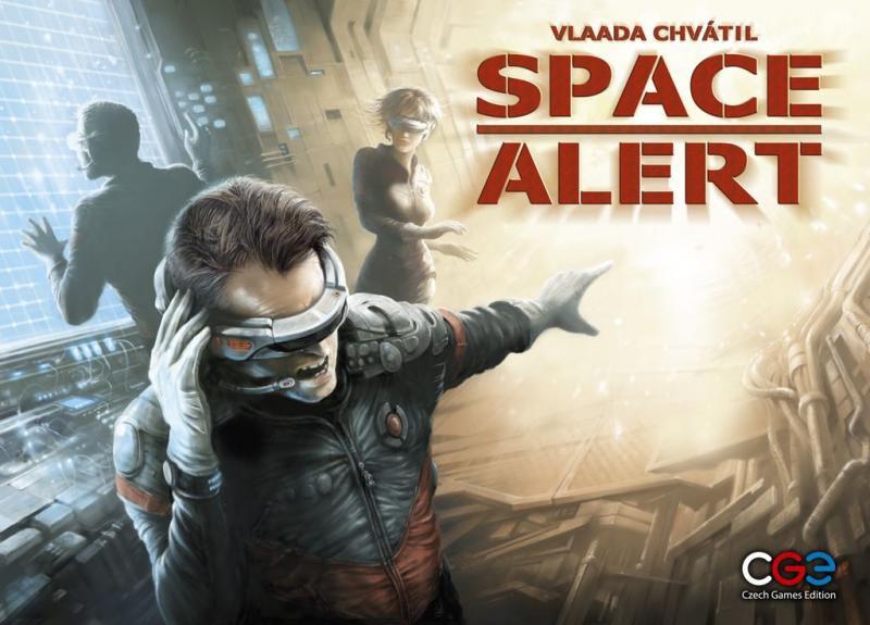 настольная игра Space Alert Космическая тревога