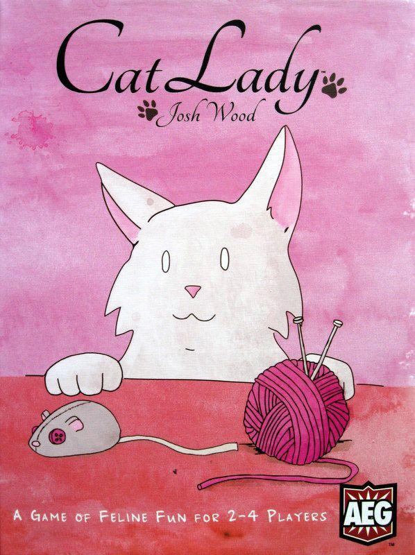настольная игра Cat Lady Кошка леди